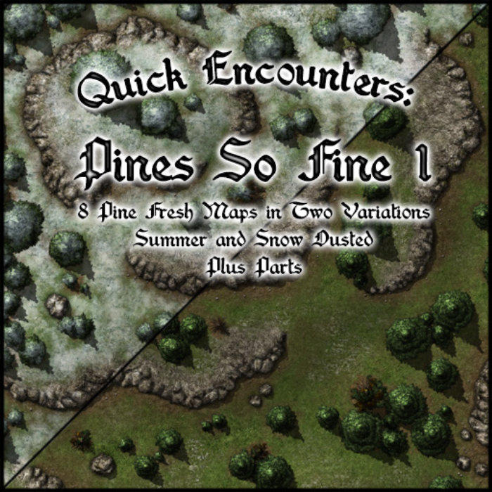 Quick Encounters: Pines So Fine 1 by Gabriel Pickard | Astral TableTop